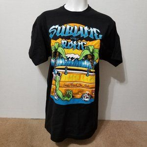 Sublime with Rome shirt Large Beach Leech monster